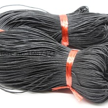 Jewelry-Accessories Cord-Line Cotton Wax 1mm Vari 430m Parts Black Rope And Diameter-Bundle