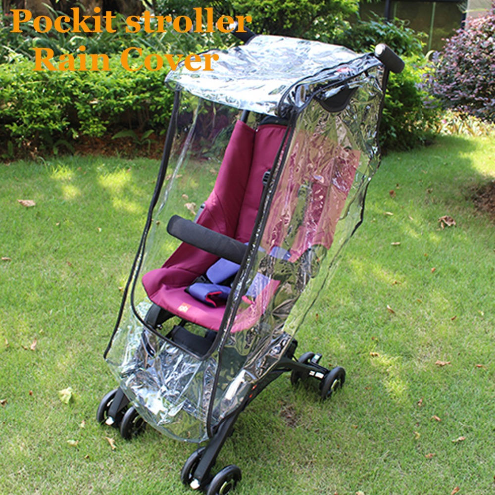 Rain Cover For Baby Cart Special Wind Proof Dustproof Raincoat Big Cart High Landscape Special Rain Cover 50% OFF Strollers Accessories Activity & Gear