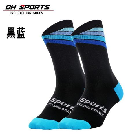 DH SPORTS Pro best sports socks windproof Coolmax Warm weather tall cycling socks Crazy basketball running athletic defeet socks Multan