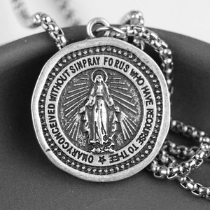 Men Women Miraculous Necklace