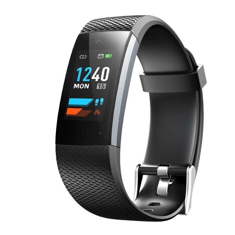 Intelligent Smart Human Body Sensor Smart Bracelet Heart Rate Monitor Pulse Meter Sport Watches For Android IOS IP67 Waterproof