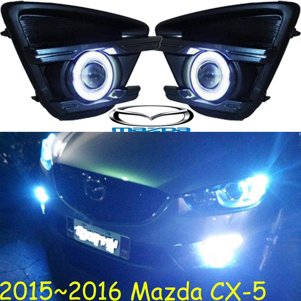 MAZD CX-5 fog light,LED,2015~2016 Free ship!MAZD CX-5 daytime light,2ps/set+wire ON/OFF:Halogen/HID XENON+Ballast,CX 5, CX5 teana fog light 2pcs set led sylphy daytime light free ship livina fog light