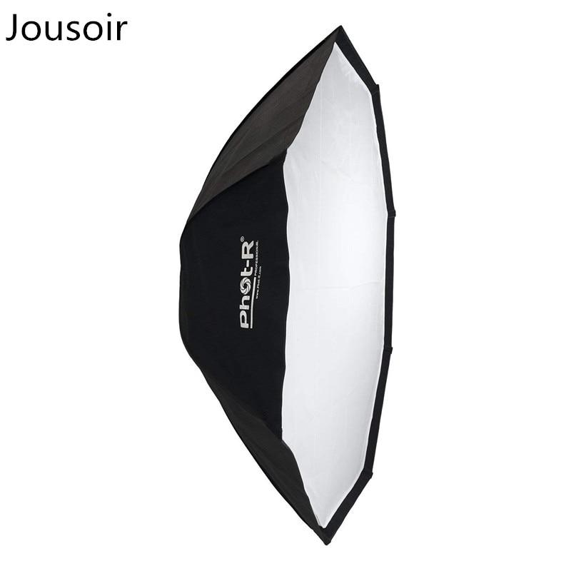 150cm Octagon Folding Umbrella Softbox Reflector With Bowens S-Type Mount Speedring Studio Strobe Flash - BlackCD15