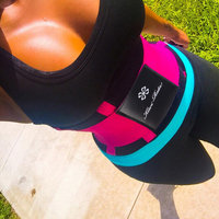 KIWI RATA S FITNESS BELT XTREME POWER ORIGINAL PINK BLUE BLACK Thermo Shaper Waist Training Corset