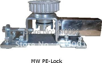 MW tension pulley device electric bolt locks