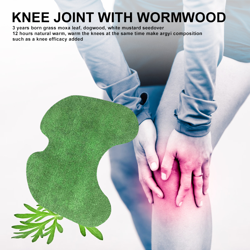 12 Patches Knee Patch Keeping Warm Muscle Massage Muscle Arthritis Aches Relief Joint Pain Nursing Patch Mugwort Opp Bag