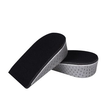 1 para wkładki do butów oddychająca pół wkładka wysokość wkładka wkładka do butów sportowych poduszka Unisex 1 5-4 5cm wkładka podwyższająca tanie i dobre opinie NoEnName_Null 1 cm-3 cm Średnia (B M) XD-Memory Half Pad COTTON Stałe Pochłaniające wstrząsy Zwiększające wysokość