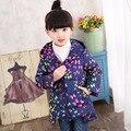 2017 New Arrival Girls Jackets Warm Down Coats for Baby Girls Outerwears Children's Jackets Autumn Winter Outdoor Windbreaker