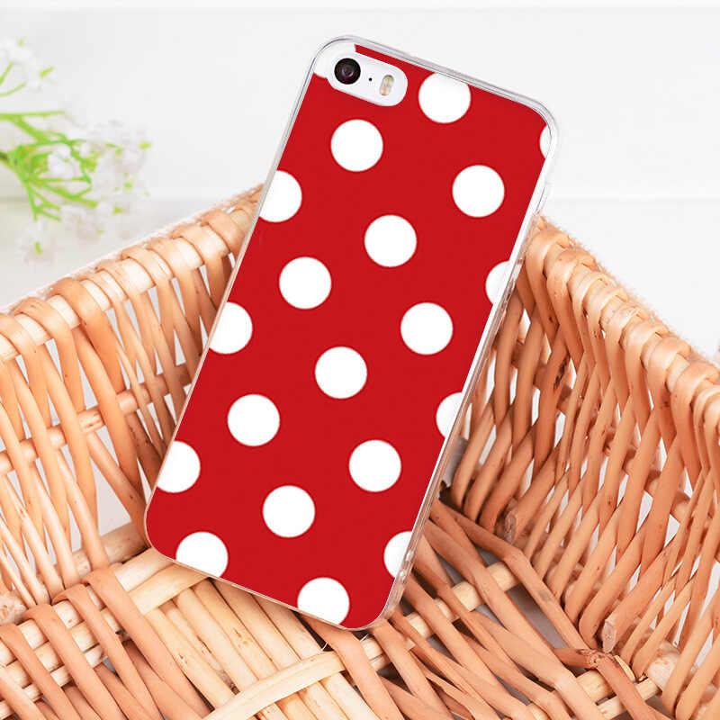 MaiYaCa pour iphone 11 Pro 7 6 X étui rouge noir or à pois cerf coque de téléphone pour iphone 11 Pro 8 7 6 6S Plus X XS XR XSMAX