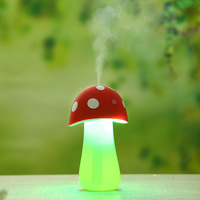 Mushroom Lamp Humidifier LED Nightlight USB Protable Mist Maker Air Diffuser Purifier Atomizer Home Office Car