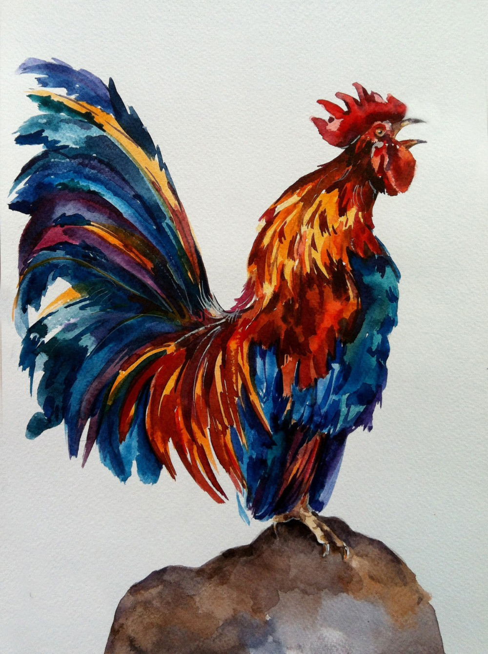 Popular Rooster Art-Buy Cheap Rooster Art lots from China ...