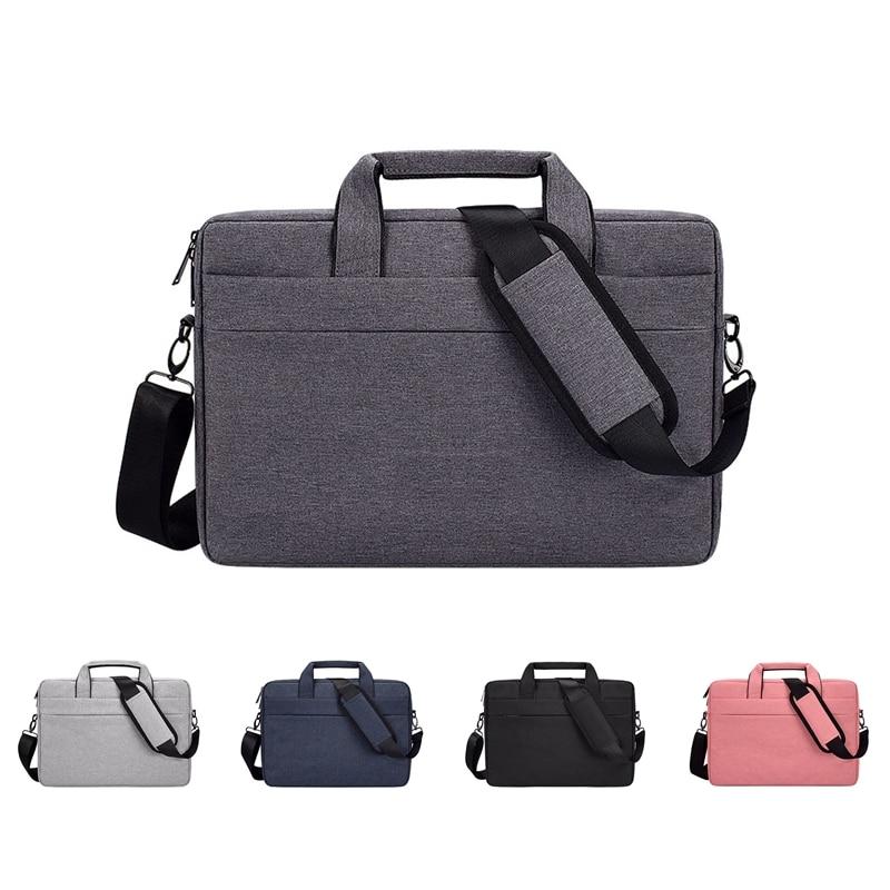 Universal Laptop Messenger Bag For Macbook Air 12' Waterproof Nylon Notebook Bag For Pro 13' 15' Shoulder Bag For Dell Lenovo HP
