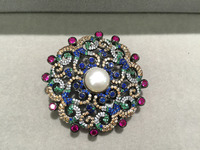 DIYJewelry Finding&components Clasps of necklace silver with zircon antique multicolor fashion women jewelry