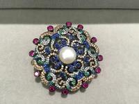Diyjewelry поиск и компоненты застежками колье серебро с цирконом Антикварной многоцветный Модные женские ювелирные изделия