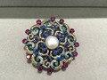 Diyjewelry поиск и компоненты фермуаров ожерелье с цирконом античная многоцветный мода женщины ювелирные изделия