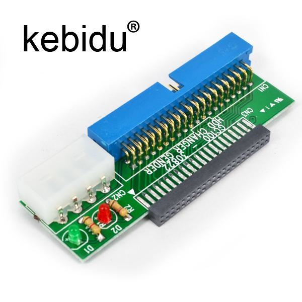 """44 Pin to 40 Pin IDE HDD Adapter 2.5/"""" IDE HDD to 3.5/"""" IDE Hard Drive Adapter,"""