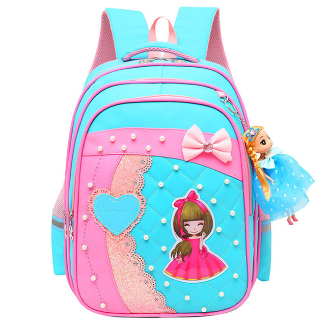 01ed7788f09b US $20.8 50% OFF|2019 New Children School Bags For Girls Orthopedic kids  Backpack Primary School Backpacks schoolbag satchel Mochila Infantil Zip-in  ...