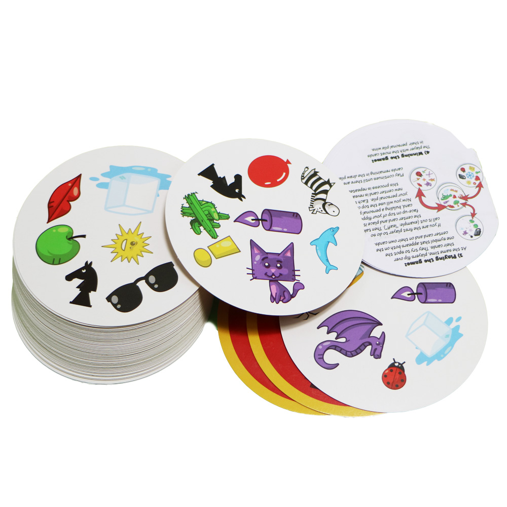 2018 Spot Card Game For Kids Like It Playing Cards Love Goods English Version Red Most Classic Board Games
