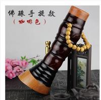 Тонкая талия кальян бамбука ведро трубы двойной фильтр Кальян Портативный Бамбуковый стержень трубка для здоровья