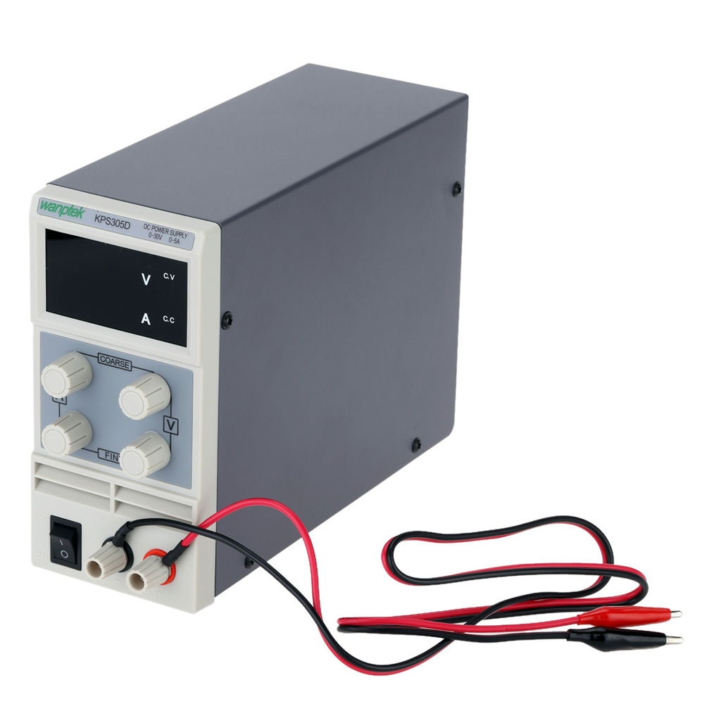 Mini Adjustable Dc Power Supply Switching Display 220v Voltage Regulator 12v 15a For Battery By Mc34063 Package Lists 1 Cord Output Line Instruction Book
