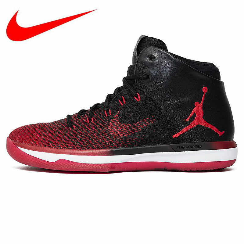 official photos 160bc 4349b Original NIKE Air Jordan AJ31 Banned Chicago Smash Men s Basketball Shoes  Sports Sneakers,Multiple Color