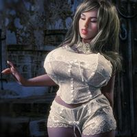big breast real silicone sex dolls 108cm skeleton robot japanese realistic anime sexy