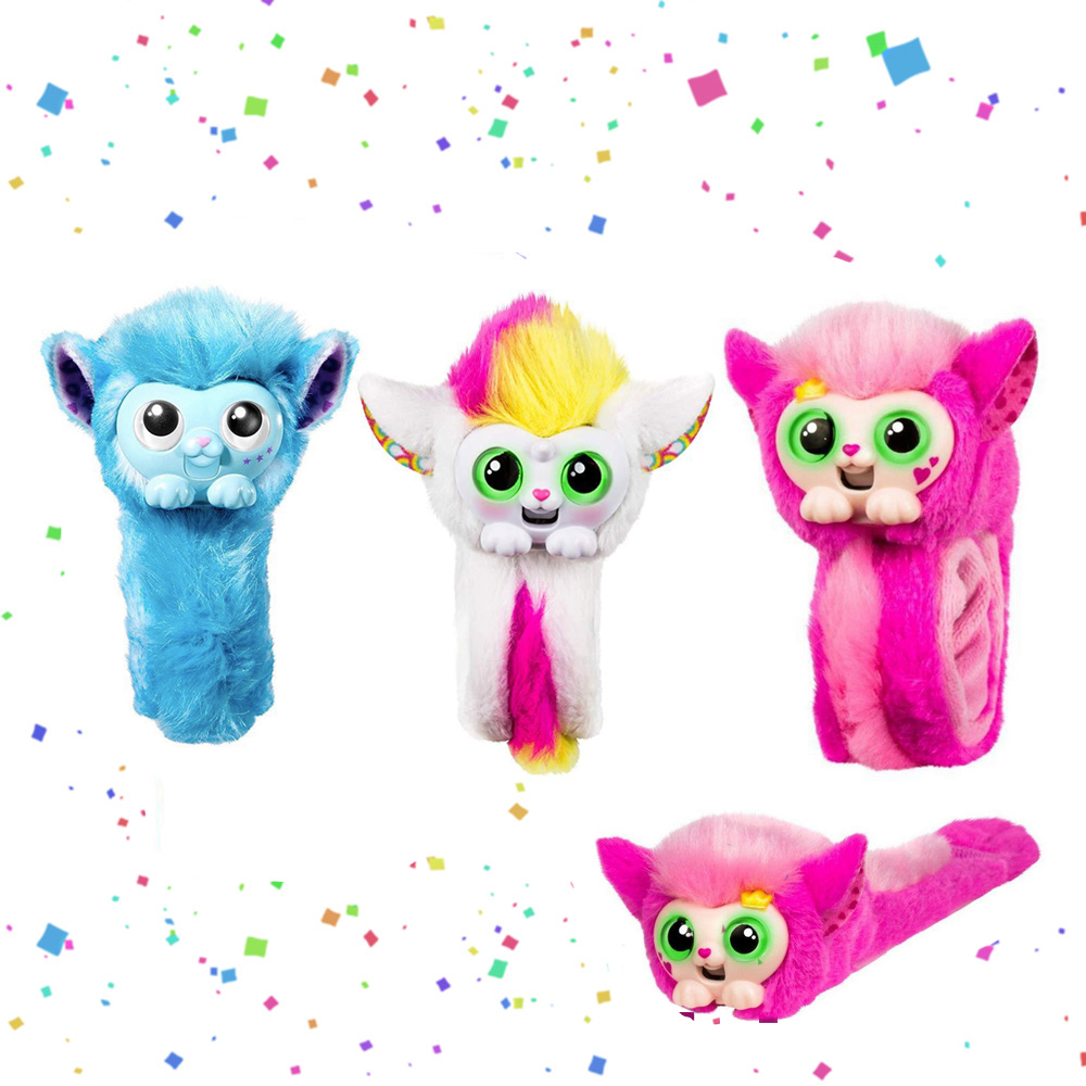 цена на 2018 New Toy Little Live Pets Wrapples Monkey Interactive Action Figure Toy Christmas Gift