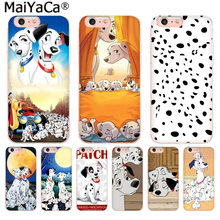 MaiYaCa 101 Dalmatians One Hundred and One London Adventure phone case for iphone 11 pro 8 7 66S Plus X 10 5S SE XS XR XS MAX(China)