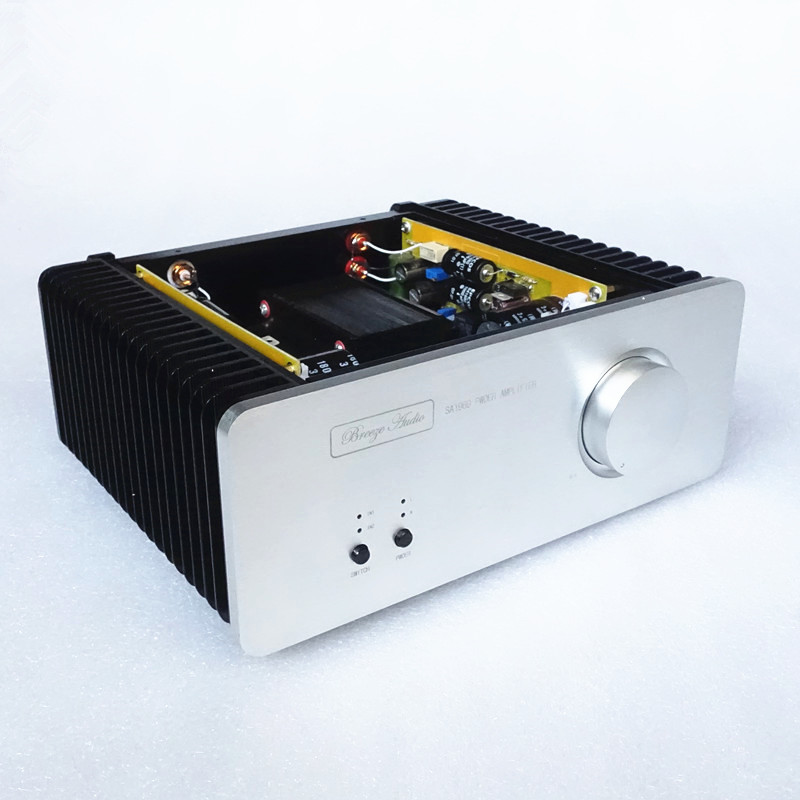 DIY 2018 Newest SA1969 hifi Pure Class A amplifier HOOD 1969 Audio Power Amplifier HiFi Stereo 10W Microphone finished amplifier