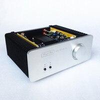 DIY 2018 Newest SA1969 hifi Pure Class A amplifier HOOD 1969 Audio Power Amplifier HiFi Stereo 10W Microphone finished amplifier