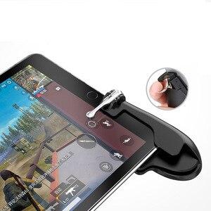 Image 5 - PUBG 携帯トリガー/コントローラ発射ボタン目的キー携帯ゲームグリップハンドル L1R1 シューター Ipad タブレット & 電話 2in1