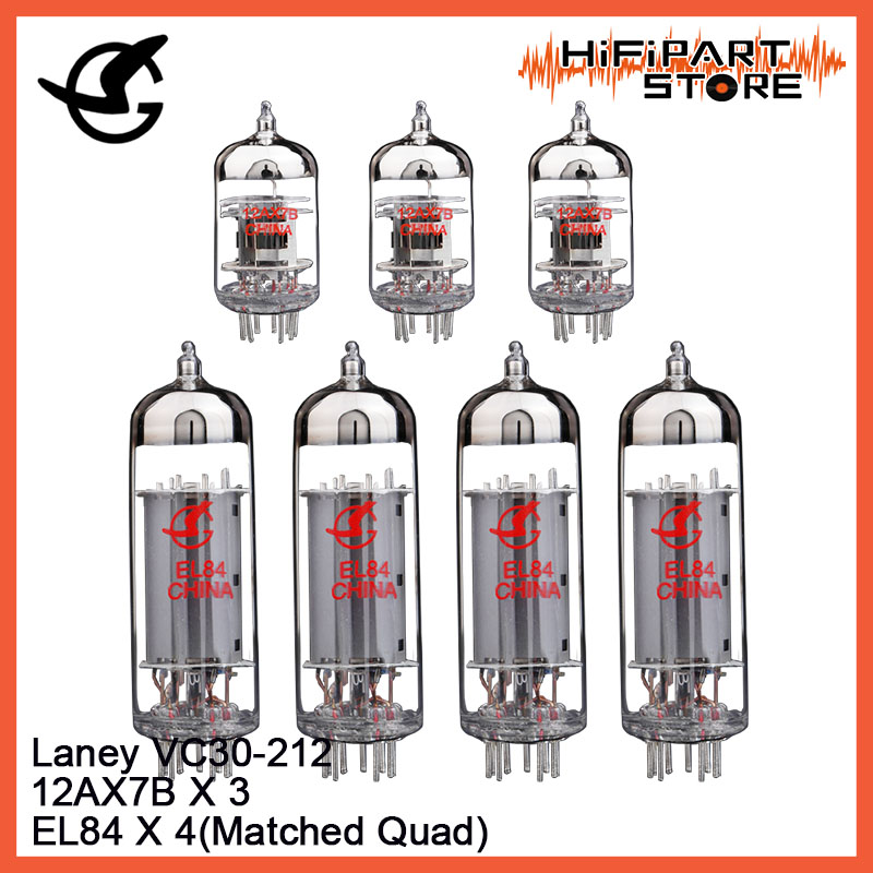 Shuguang Tube Upgrade Kit For Laney VC30 212 Amps EL84 X 4 12AX7B X 3