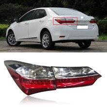 Capqx 1 шт. для Toyota Corolla задний бампер задний фонарь стоп-сигнал задняя фара Задний фонарь фара в сборе