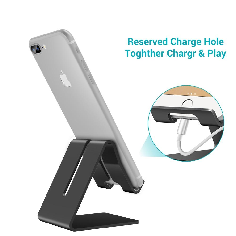 KISSCASE Aluminium metallstativhållare för iPhone XS Max XR XS X 8 - Reservdelar och tillbehör för mobiltelefoner - Foto 3