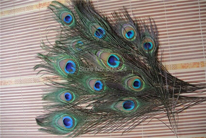 500 штук 10-12 дюймов перо павлина, перья павлина хвост глаз