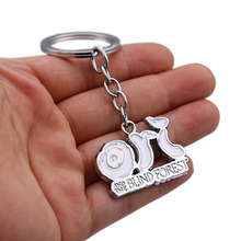 Keychain Charms Keyring Blind-Forest-Pendant Gift Men Women Cool Jewelry-Alloy The And