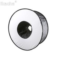 45cm Ring Softbox Speedlight Round Style Flash Light Shoot Soft box Foldable Diffuser All Camera Universial