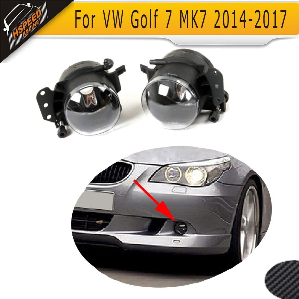 ABS Auto Car Fog LED lamp Fog Running Lights For BMW E60