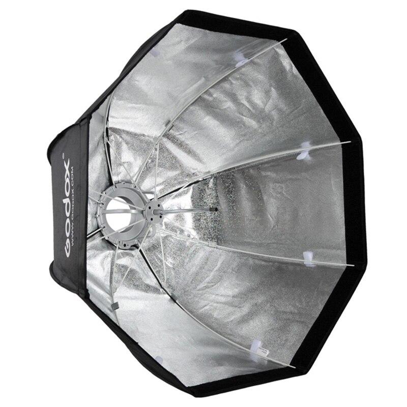 Godox SB-UE Octagonal Umbrella Softbox 120cm Portable for Speedlite Flash with for Bowens Mount недорго, оригинальная цена