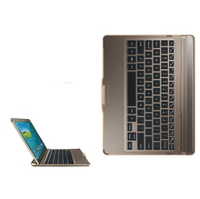 New Wireless Blutooth Official Original Metal Keyboard Station Stand Case Cover For Samsung Galaxy Tab S