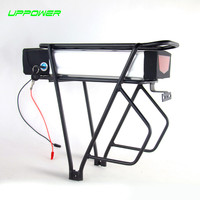 US EU No Tax Powerful Rear Rack Electric Bike Battery 48V 30Ah Lithium Ion Sanyo Cell