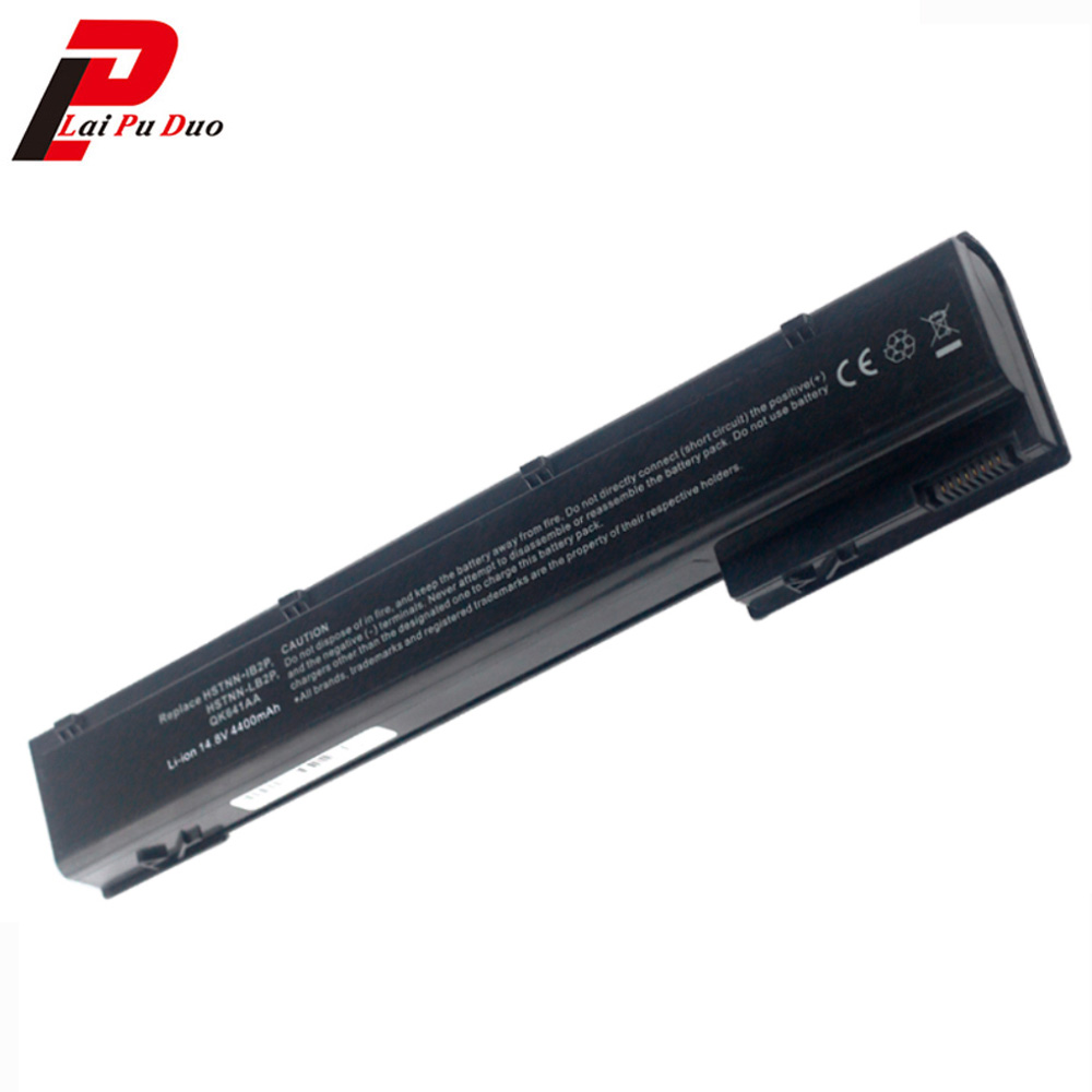 Laptop battery for HP EliteBook 8560w 8570w 8760w 8770w VH08 VH08XL HSTNN-IB2P HSTNN-LB2P HSTNN-F10C HSTNN-I93C QK641AA 4400mAh цены онлайн