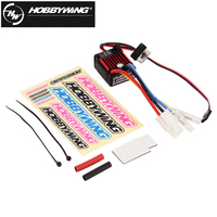 1pcs 100 Original HobbyWing QuicRun 1 10 Brushed 60A Electronic Speed Controller ESC 1060 RC Car