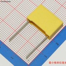 0.22uF 224  10pcs capacitor X2 capacitor 275VAC Pitch 15mm X2 Polypropylene film capacitor 0.22uF