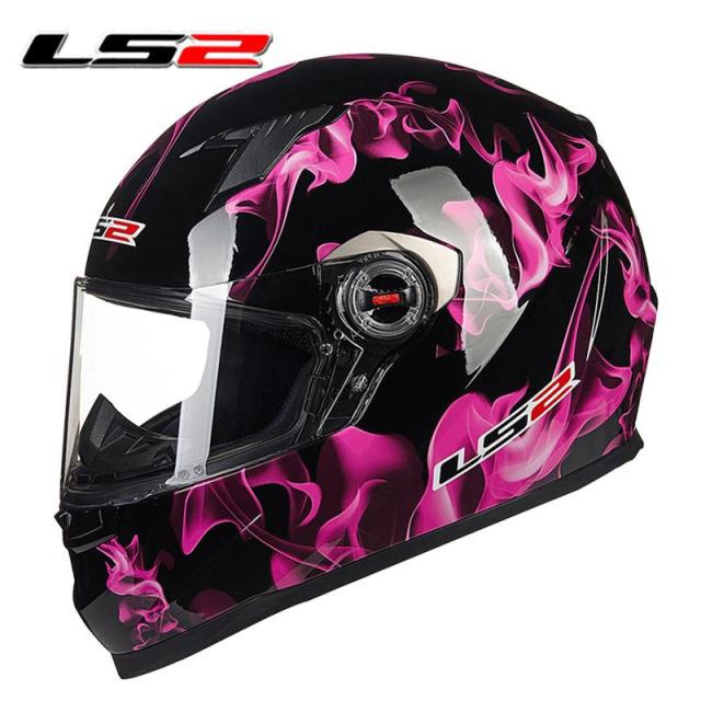 New Arrival 100 Original Ls2 Ff358 Motorcycle Helmet Full Face Ls2
