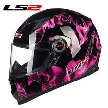 new authentic LS2 FF358 High quality full face motorcycle helmet mens racing moto helmets ECE capacete casqueiro casque no pump