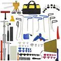 Conjunto de Ferramentas PDR Paintless Reparação Dent Remoção Do Dente de Carro Conjunto de Ferramentas de Mão LEVOU Refletor Board Bastões de Cola Hot Melt