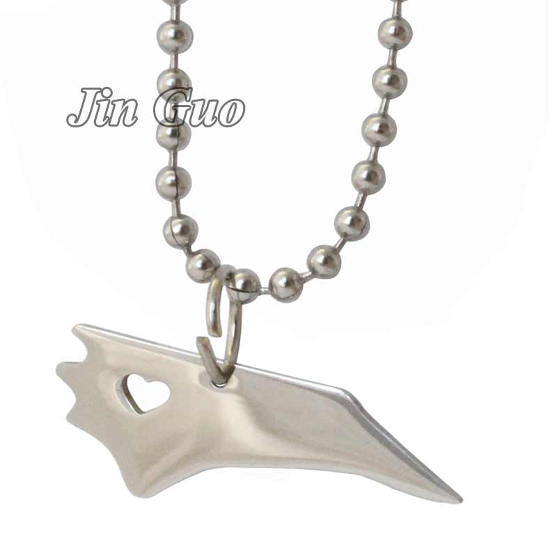 Jin Guo United States Maps North Carolina map stainless steel pendant & necklace