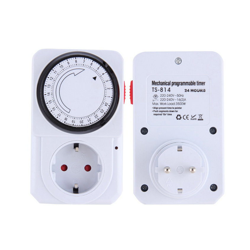 New EU Plug 24 Hour Programmable Mechanical Electrical Plug Program Timer Power Switch Energy Saver an incremental graft parsing based program development environment