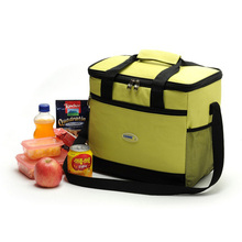 16l Thicken Folding Fresh Keeping Waterproof Nylon Lunch Bag Cooler Bag For Steak Insulation Thermal Bag Insulation Ice Pack